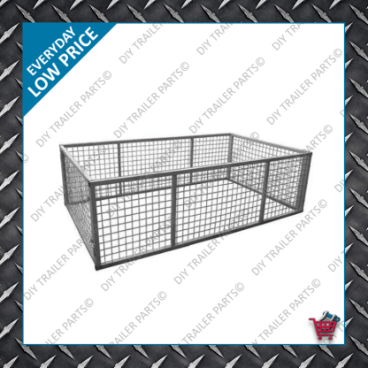 6x4 Trailer Cage 600mm High