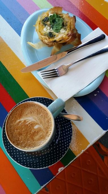 coffee-and-spinach-filo
