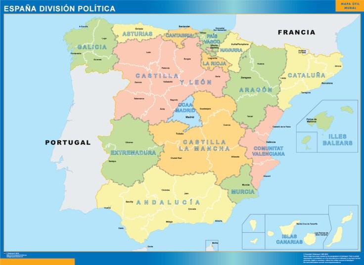 España-Division-Politica
