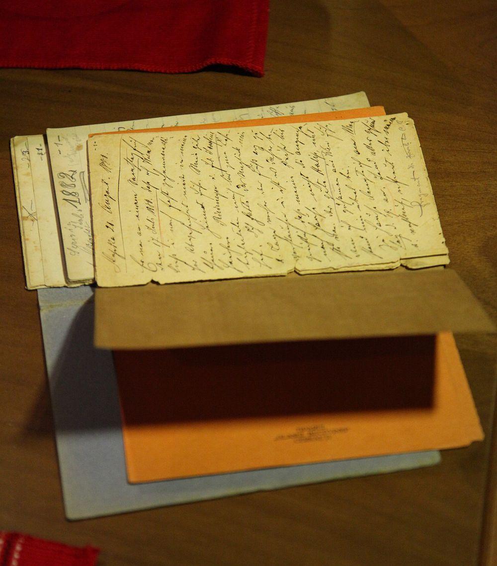 Fragment original din jurnalul lui Ciprian Porumbescu