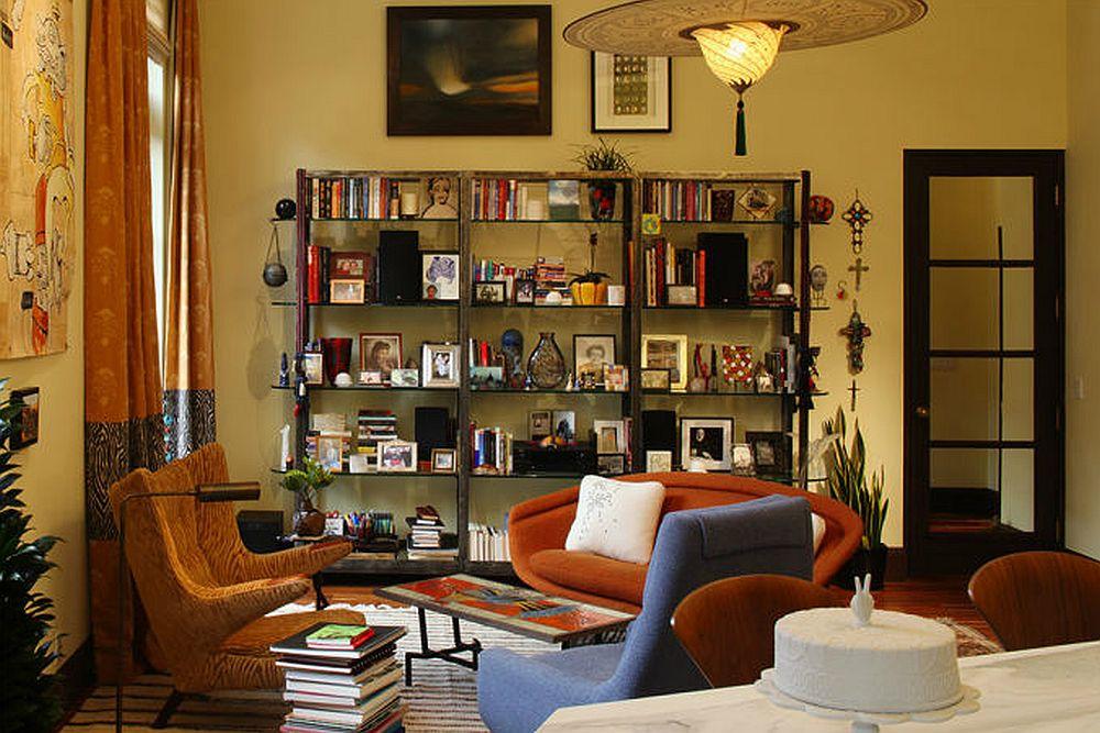 adelaparvu.com despre apartament de doua camere in stil eclectic, design interior Robert Holgate, Foto JD Peterson (3)