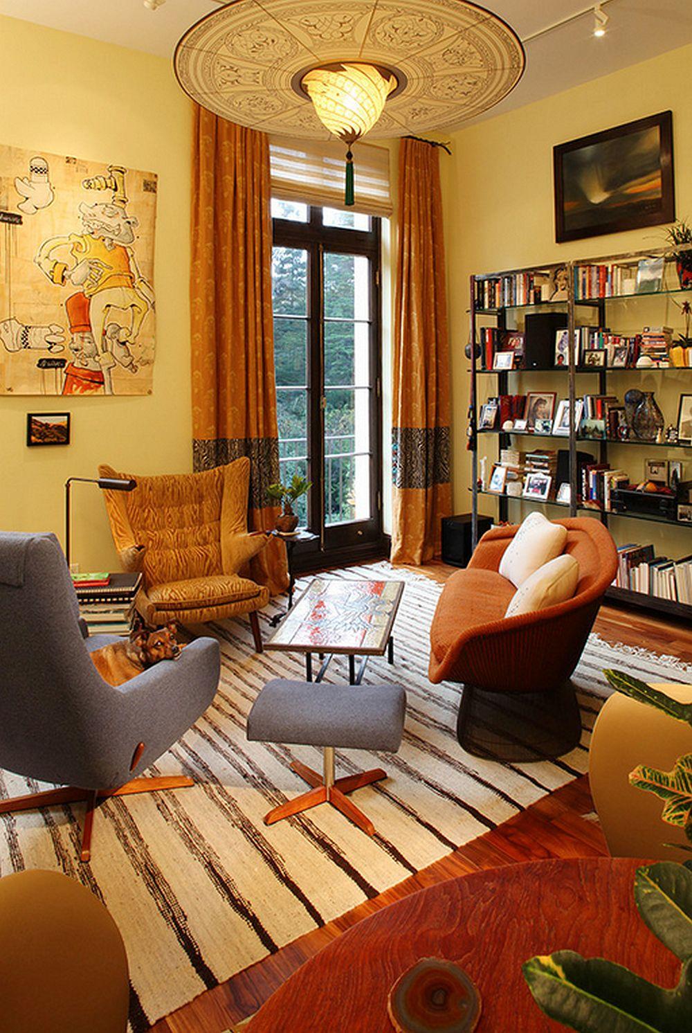 adelaparvu.com despre apartament de doua camere in stil eclectic, design interior Robert Holgate, Foto JD Peterson (6)