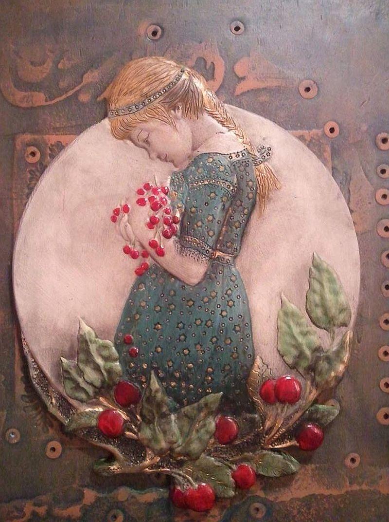 adelaparvu.com despre placi ceramice de arta, sobe de arta, pereti placati cu ceramica de arta, artisti Ligia si Calin Velio, Foto Velio (3)