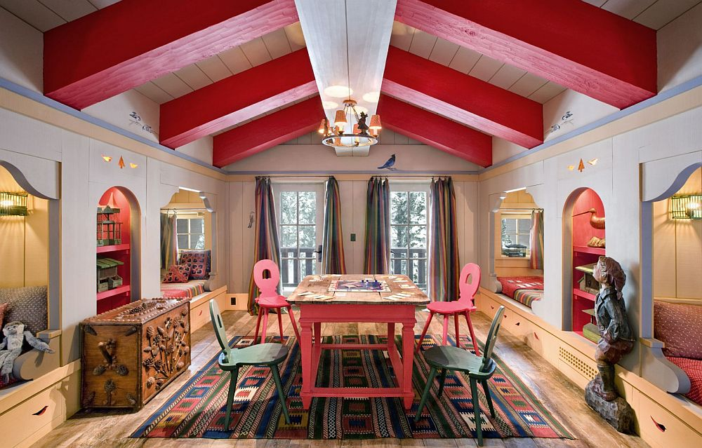 adelaparvu.com despre cabana de munte in SUA, chalet de schi in California, arhitecti John Malick & Associates, Foto David Wakley (8)