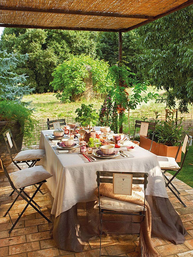 adelaparvu.com idei de pergole si umbrare pentru gradina, Foto ElMueble (15)