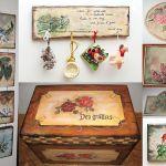 adelaparvu.com despre tablouri, cufere si mic mobilier pictate, design Brindusa Art, artizan Brindusa Panc