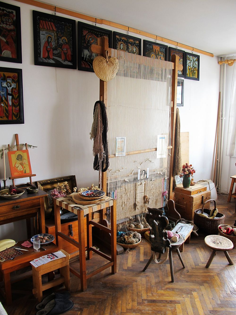 adelaparvu.com despre acuarele Mihai Macri, atelier artist Mihai si Mariana Macri (30)