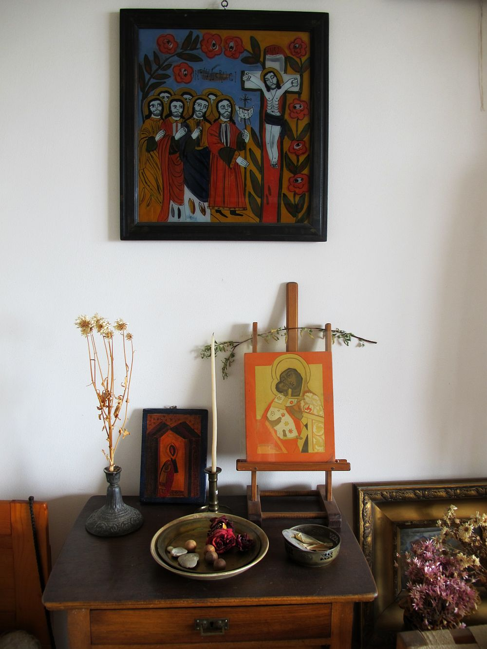 adelaparvu.com despre acuarele Mihai Macri, atelier artist Mihai si Mariana Macri (31)