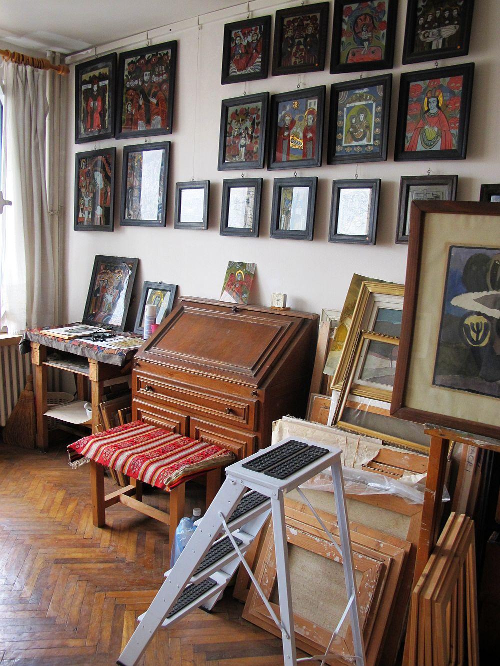 adelaparvu.com despre acuarele Mihai Macri, atelier artist Mihai si Mariana Macri (36)