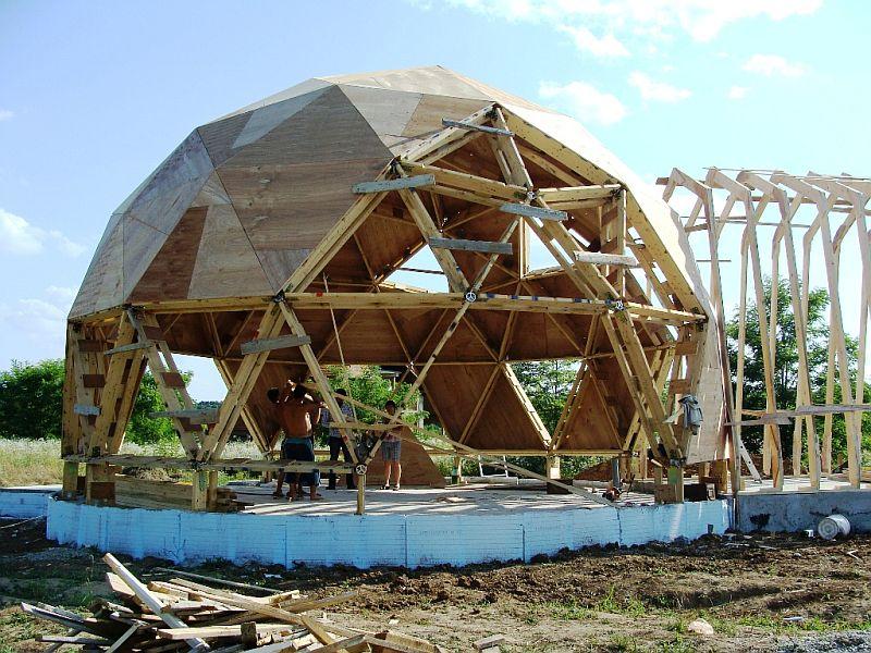 adelaparvu.com despre case tip domuri geodezice, casa dom geodezic, design ing. Alexandru Dinulescu (41)