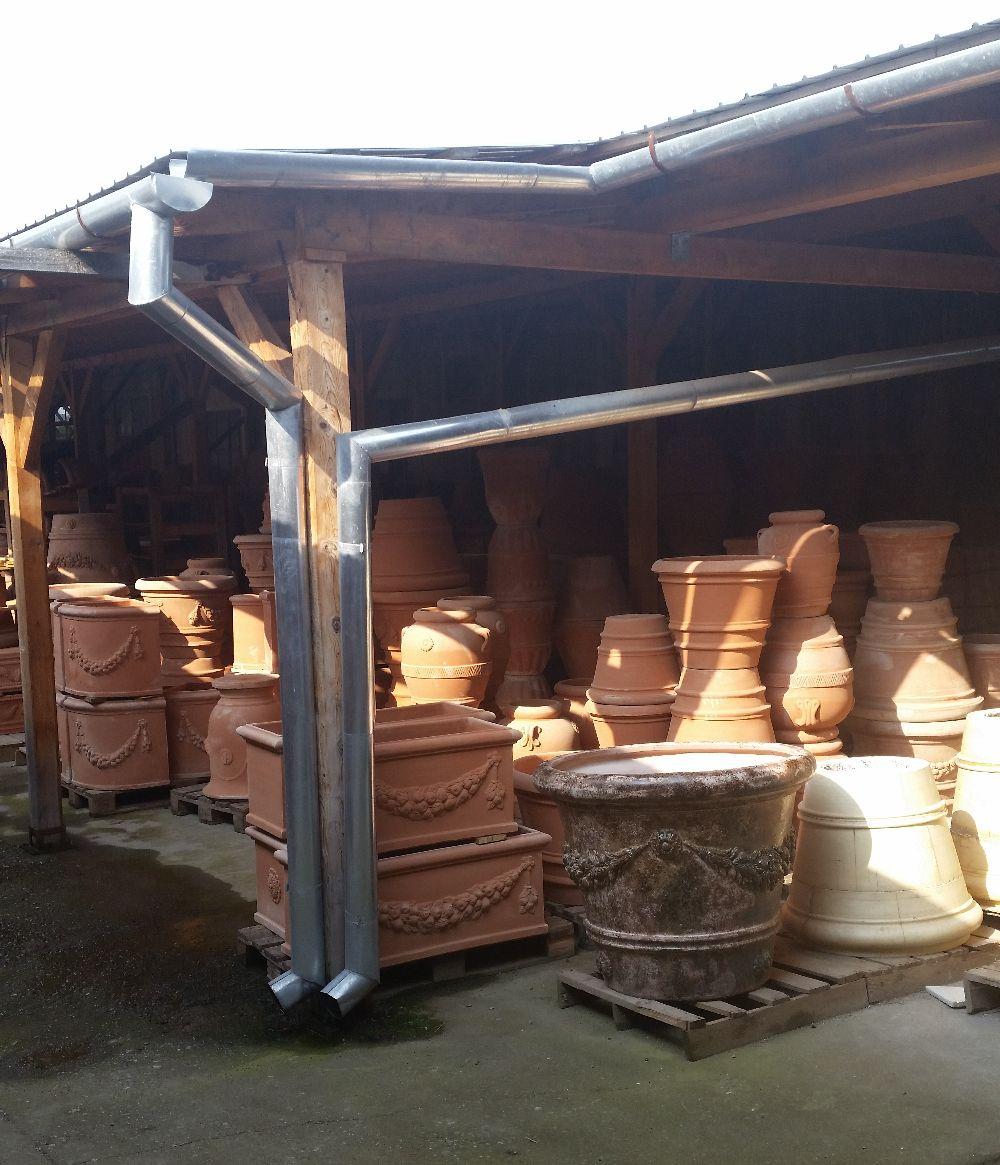 adelaparvu.com despre vase de gradina, ghivece si ornamente din teracota, lut, Terecote Sighisoara Romania (23)