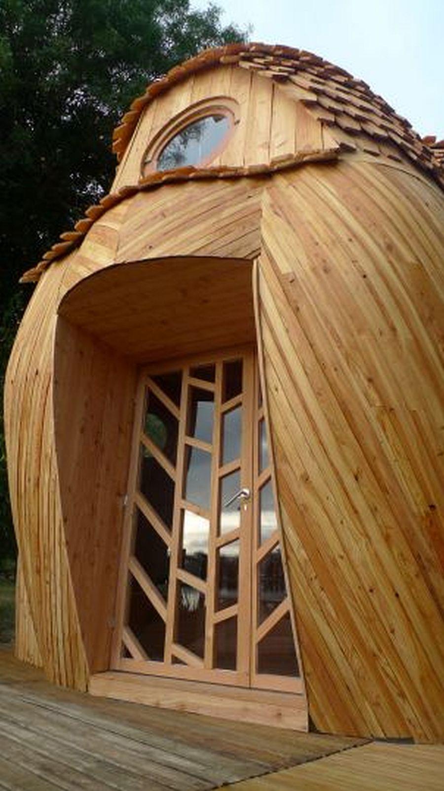 adelaparvu.com despre cabana in forma de bufnita, design Zebra3, Foto Bruitdufrigo Refuges Guetteurs (1)