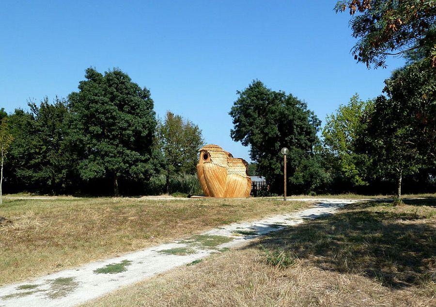 adelaparvu.com despre cabana in forma de bufnita, design Zebra3, Foto Bruitdufrigo Refuges Guetteurs (5)