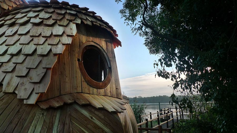 adelaparvu.com despre cabana in forma de bufnita, design Zebra3, Foto Bruitdufrigo Refuges Guetteurs (8)