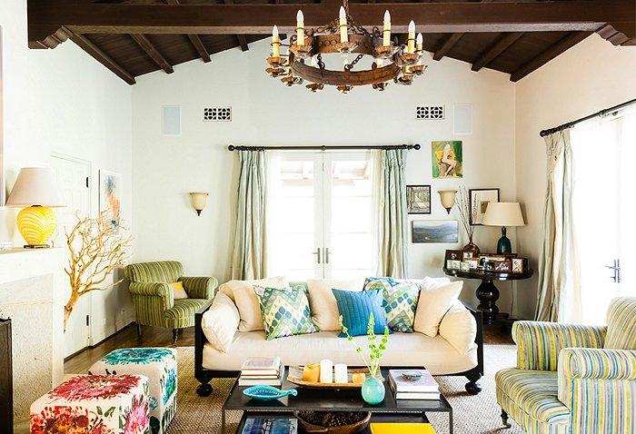adelaparvu.com despre casa de tip hacienda, casa SUA, casa Katie Tarses, Foto One kings lane (6)