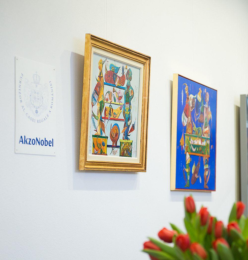 Akzo Nobel este Furnizor Oficial al Casei Regale a Romaniei