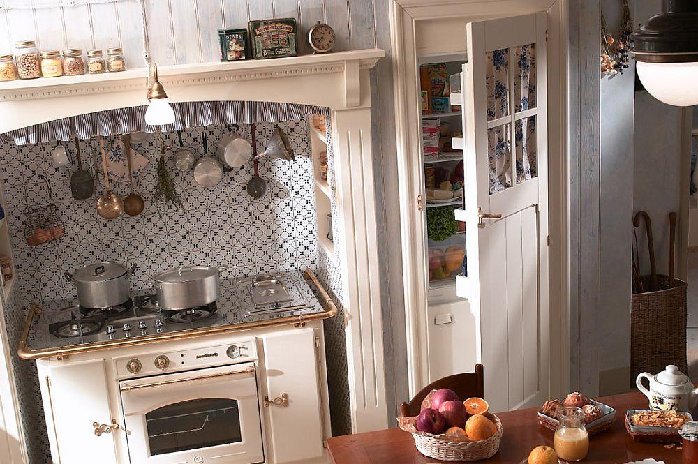 adelaparvu.com despre bucatarii rustice, bucatarii country style, model Old England, Marchi Cucine (4)