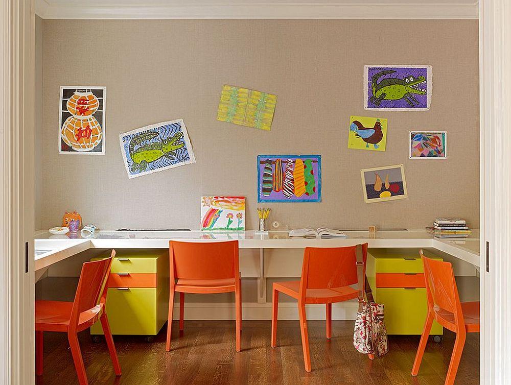 adelaparvu.com despre birouri pentru trei persoane, design Artistic Designs for Living, Tineke Triggs