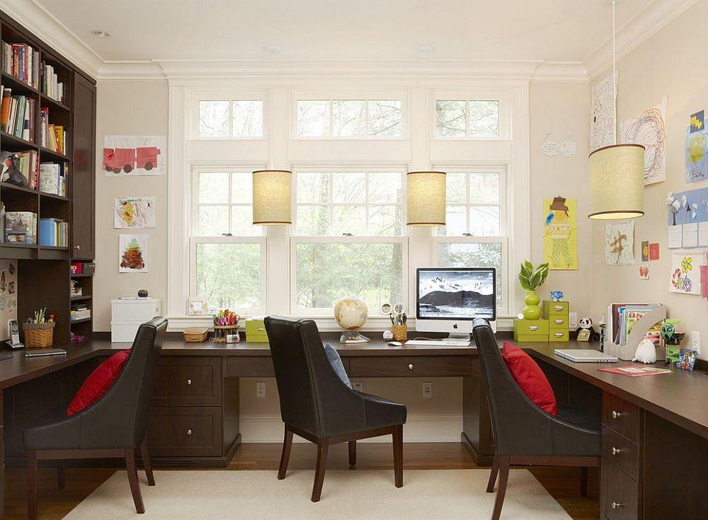 adelaparvu.com despre birouri pentru trei persoane, design Oak Hill Architects