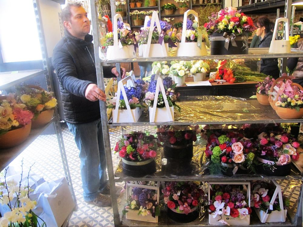 adelaparvu.com despre atelierul designerului florist Nicu Bocancea, Foraria Iris, design interior Pascal Delmotte (28)