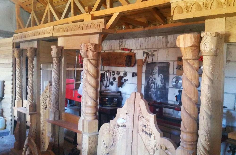 adelaparvu.com despre sculptorul in lemn Ion Moise din Topoloveni (10)