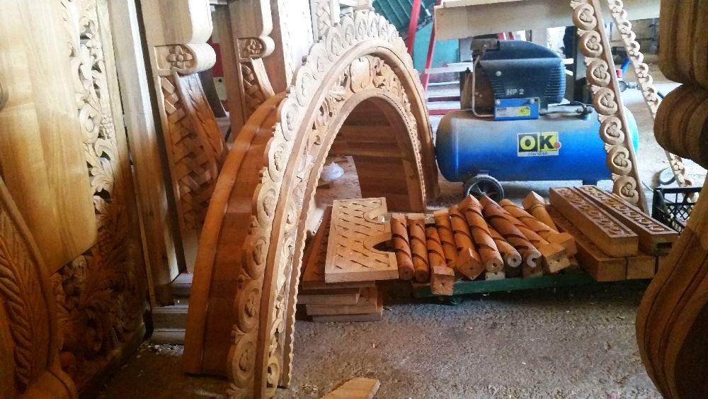 adelaparvu.com despre sculptorul in lemn Ion Moise din Topoloveni (21)