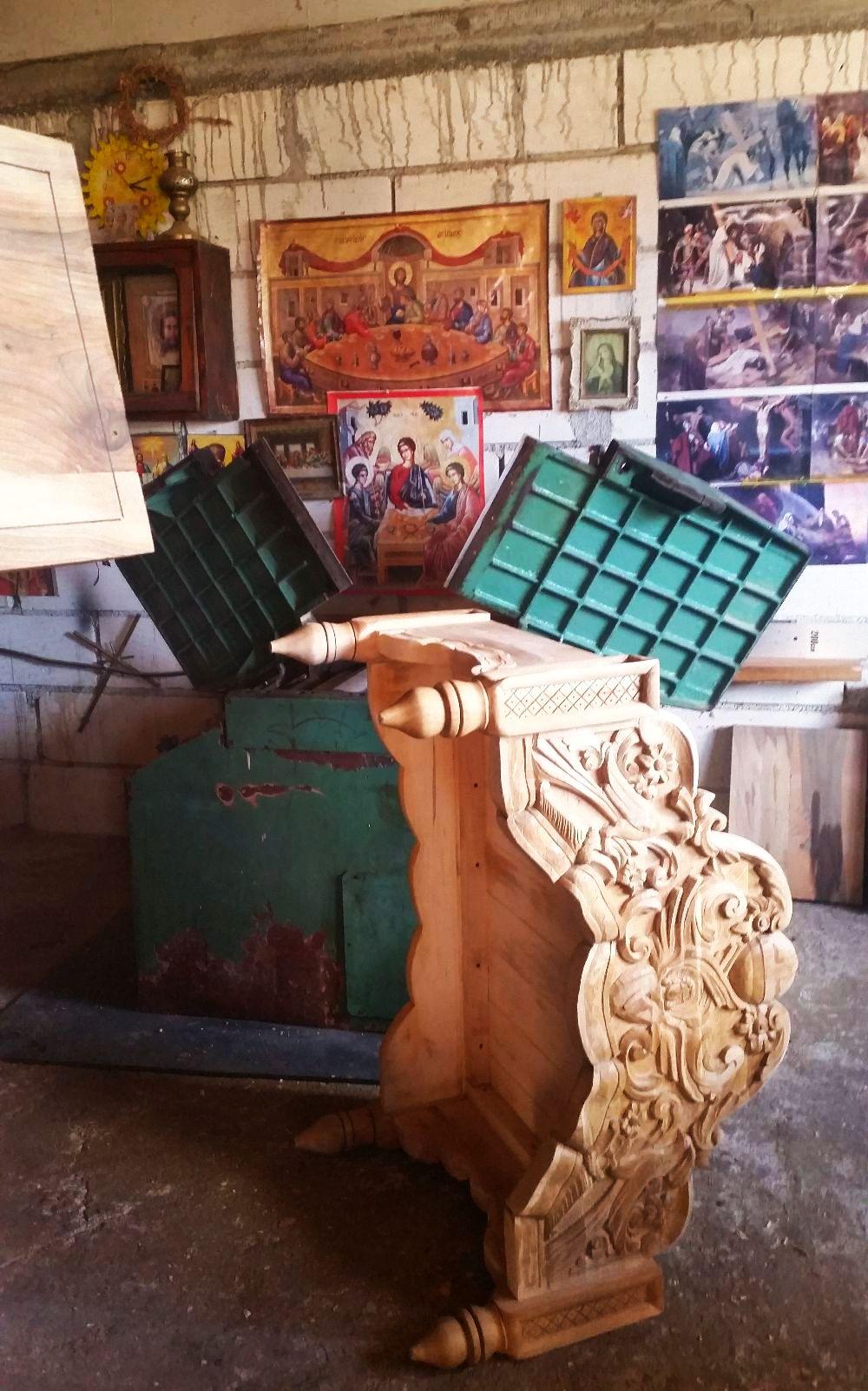adelaparvu.com despre sculptorul in lemn Ion Moise din Topoloveni (24)