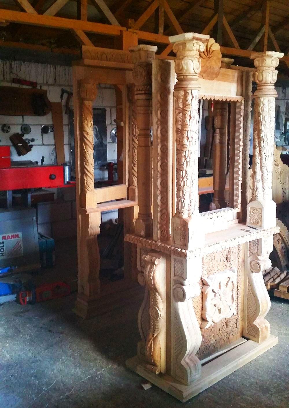 adelaparvu.com despre sculptorul in lemn Ion Moise din Topoloveni (47)