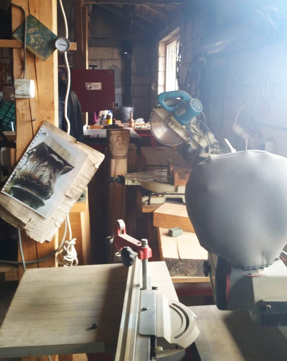 adelaparvu.com despre sculptorul in lemn Ion Moise din Topoloveni (48)