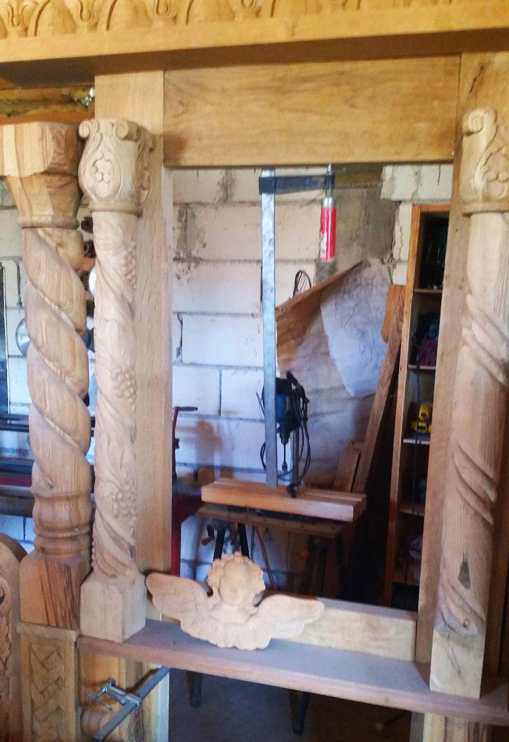 adelaparvu.com despre sculptorul in lemn Ion Moise din Topoloveni (9)