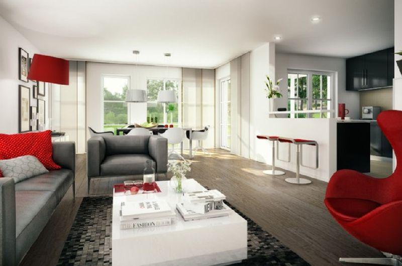 Model casa Monaco, Suprafata 114 mp, 3 camere,  Proiect Haus xxl