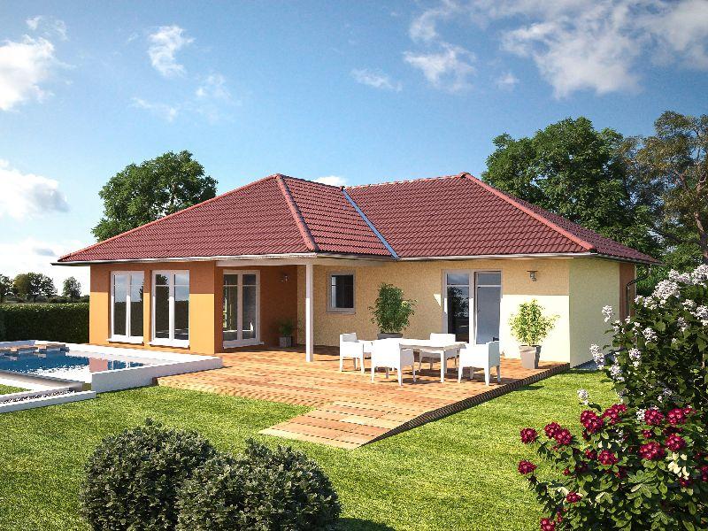 Proiecte de case cu un singur nivel și suprafețe între 87 și 145 mp