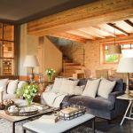 adelaparvu.com despre hambar transformat in casa, casa de munte Spania, designer de interior Maria Luisa Malagarriga, arhitectura Javier Trilla și Llorenc Olive, Foto ElMueble   (6)