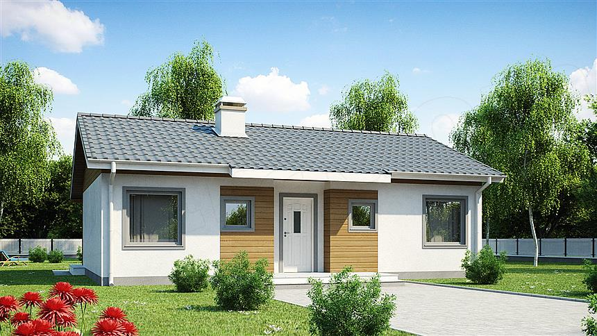 adelaparvu.com despre proiecte de case cu parter si parter si mandarda, Proiect extradom.pl Foto Extradom (7)