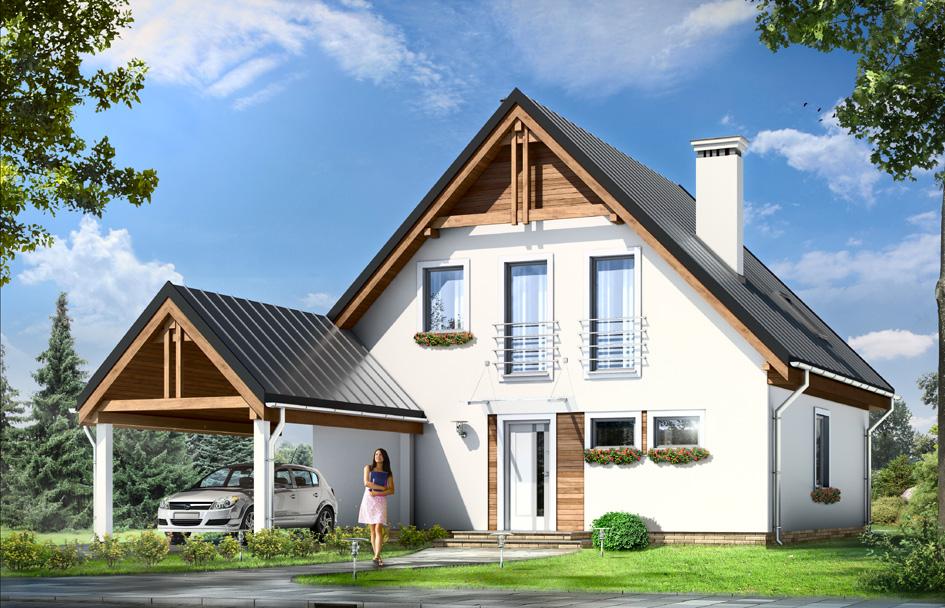 adelaparvu.com despre proiecte de case cu parter si parter si mandarda, Proiect mgprojekt.com.plFoto MGProject (6)