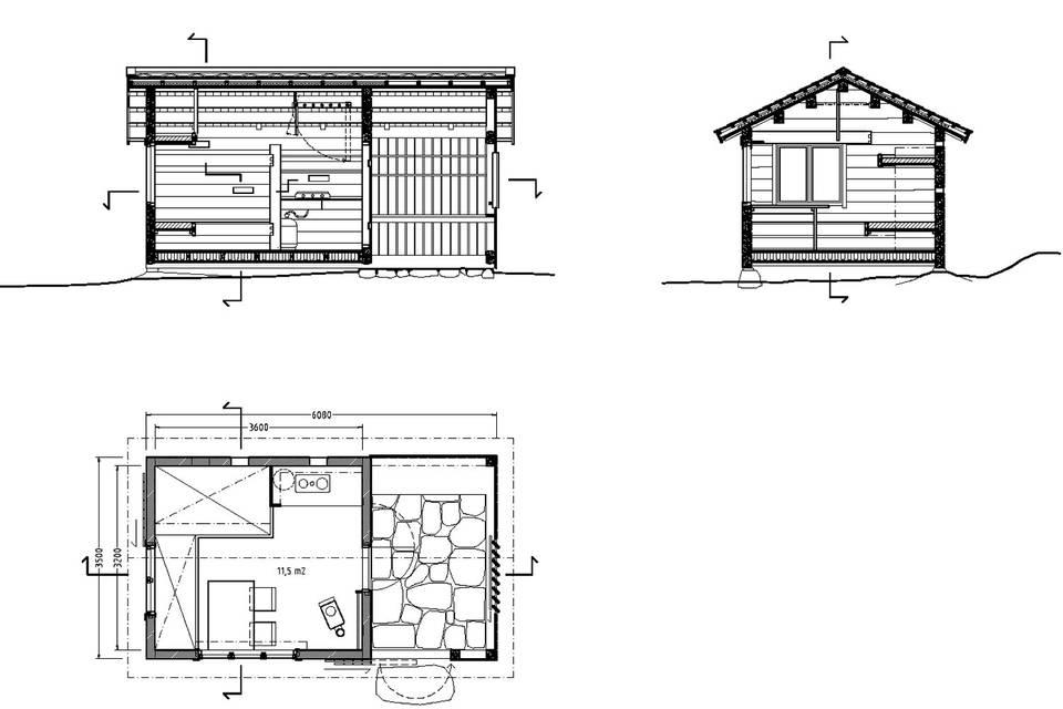 adelaparvu.com despre casa mica de vacanta, 11 mp, arhitectura Bendik Manum si arh Annelise Bjerkan, Foto Bendik Manum (8)