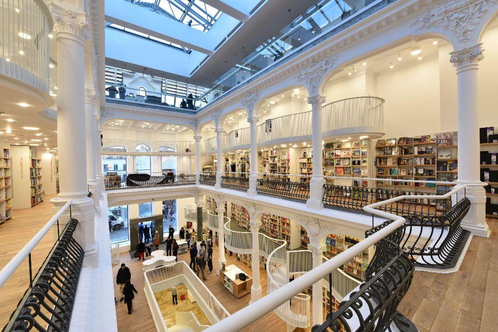 adelaparvu.com despre premiile Elle Decoration 2015, Libraria Carturesti Carusel, design interior Square One