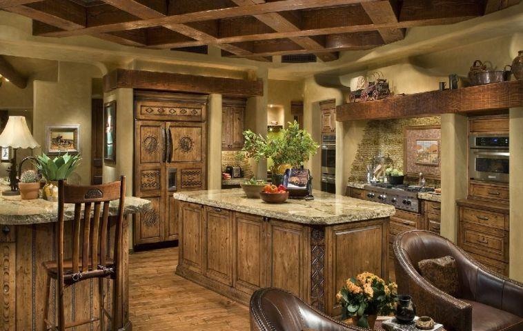 adelaparvu.com despre bucatarie in casa cu arhitectura organica, arhitect Lee Hutchison, Urban Design Associates (3)