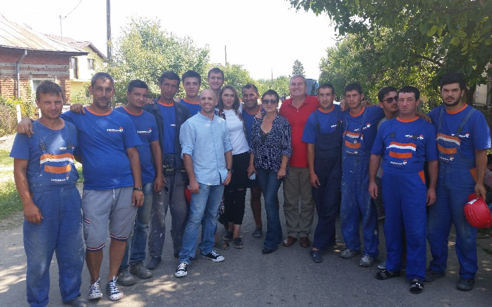 adelaparvu.com despre de ce se gasesc greu mesteri buni in Romania, Foto din emisiunea Visuri la cheie, ProTv (1)