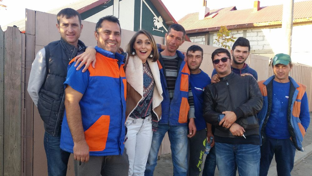 adelaparvu.com despre de ce se gasesc greu mesteri buni in Romania, Foto din emisiunea Visuri la cheie, ProTv (4)