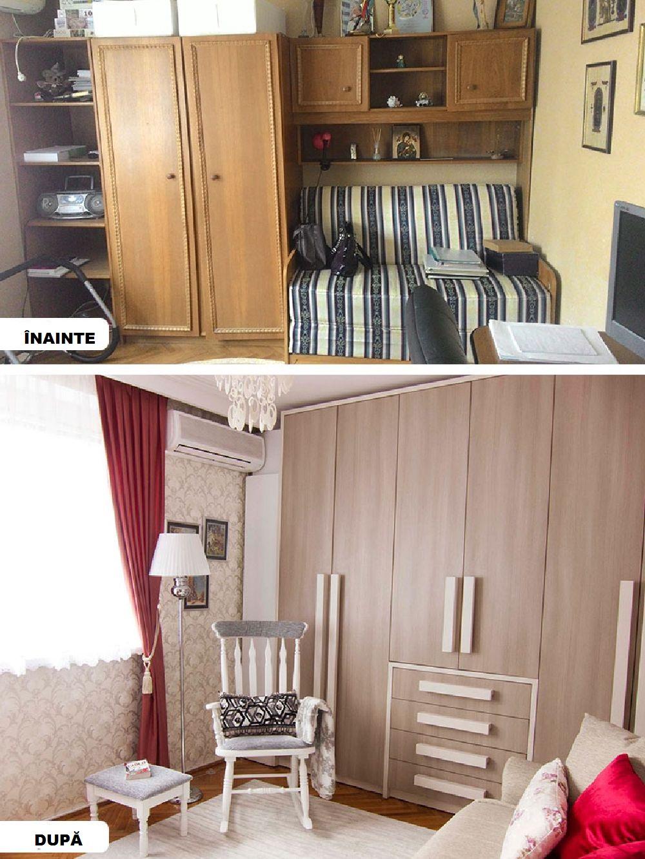 adelaparvu.com despre reamenajare apartament 3 camere Bucuresti, designer Adriana Croveanu (28)