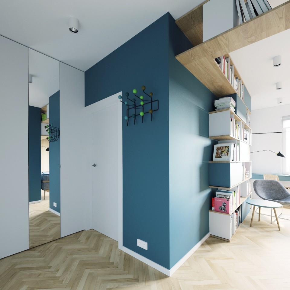 adelaparvu.com despre apartament 2 camre, 40 mp, design Studio 081 Architekci, Foto 081 Architekci (15)