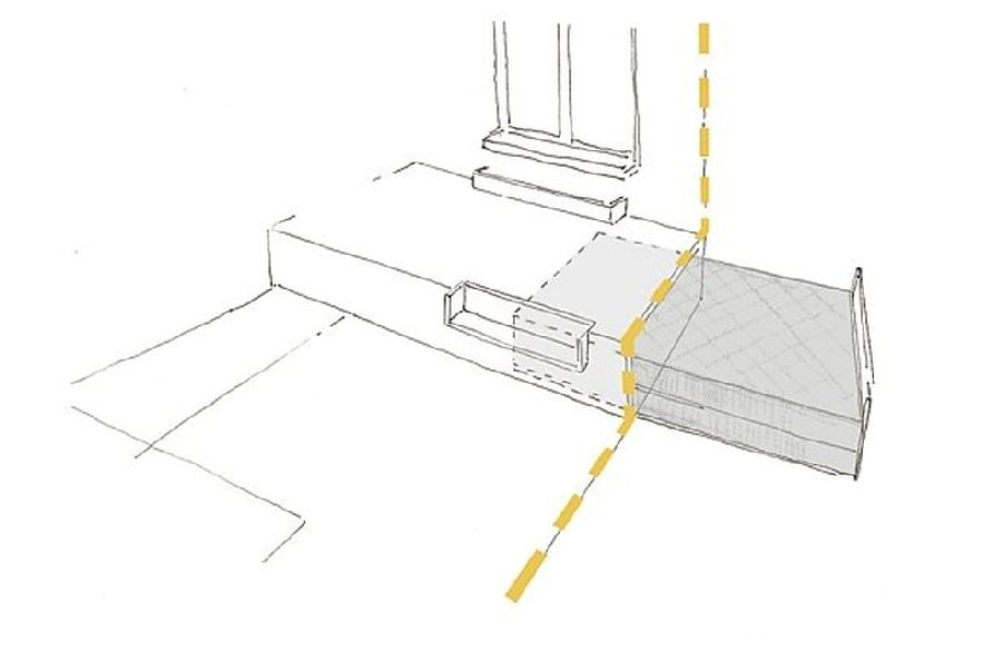 adelaparvu.com despre apartament 41 mp cu doua paturi matrimoniale, design interior arh Daria Pietryka (13)