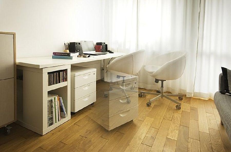 adelaparvu.com despre apartament 41 mp cu doua paturi matrimoniale, design interior arh Daria Pietryka (7)