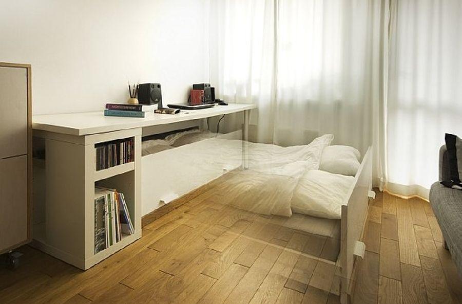 adelaparvu.com despre apartament 41 mp cu doua paturi matrimoniale, design interior arh Daria Pietryka (8)