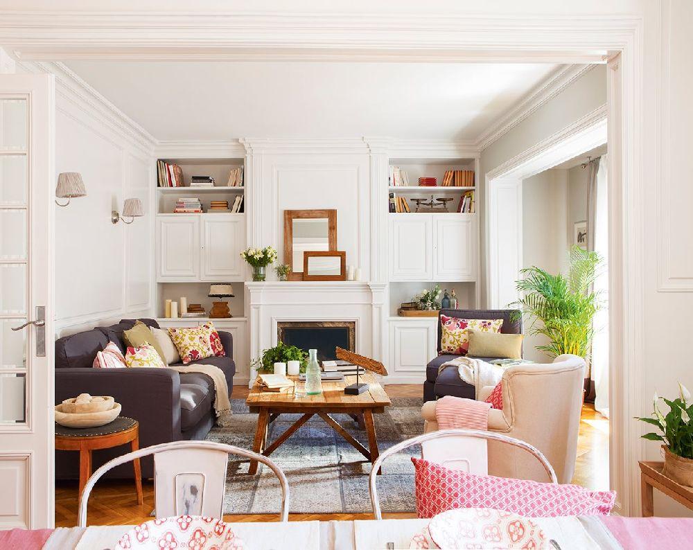 adelaparvu.com despre apartament in stil clasic actual, design interior Cristina Artiach, Foto ElMueble (7)
