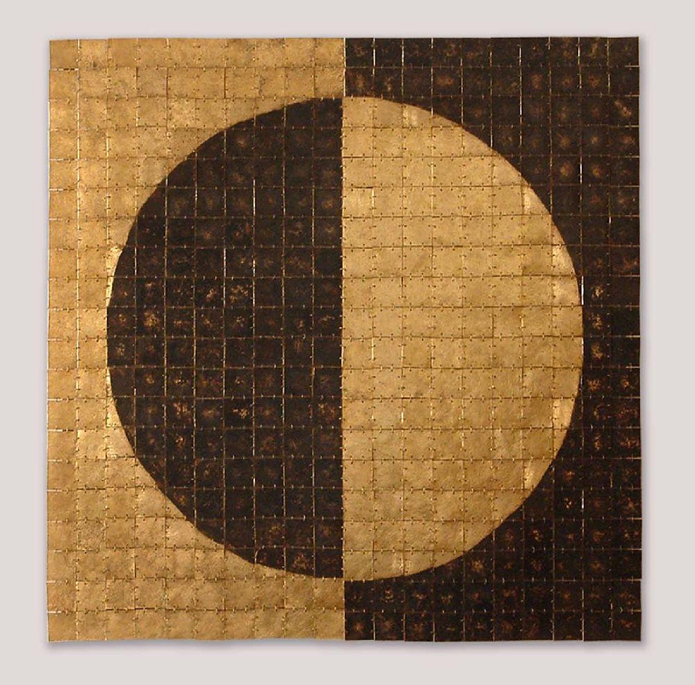 Hellene Diana Neagu, lucrare Testudinis Sapientiae, 100x100 cm alama