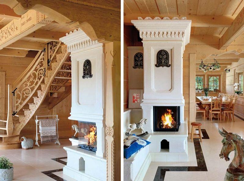 adelaparvu.com despre casa din lemn cu interior folcloric, casa Polonia, design interior Katarzyna Zachariasz-Rybak, k2 Studio (24)