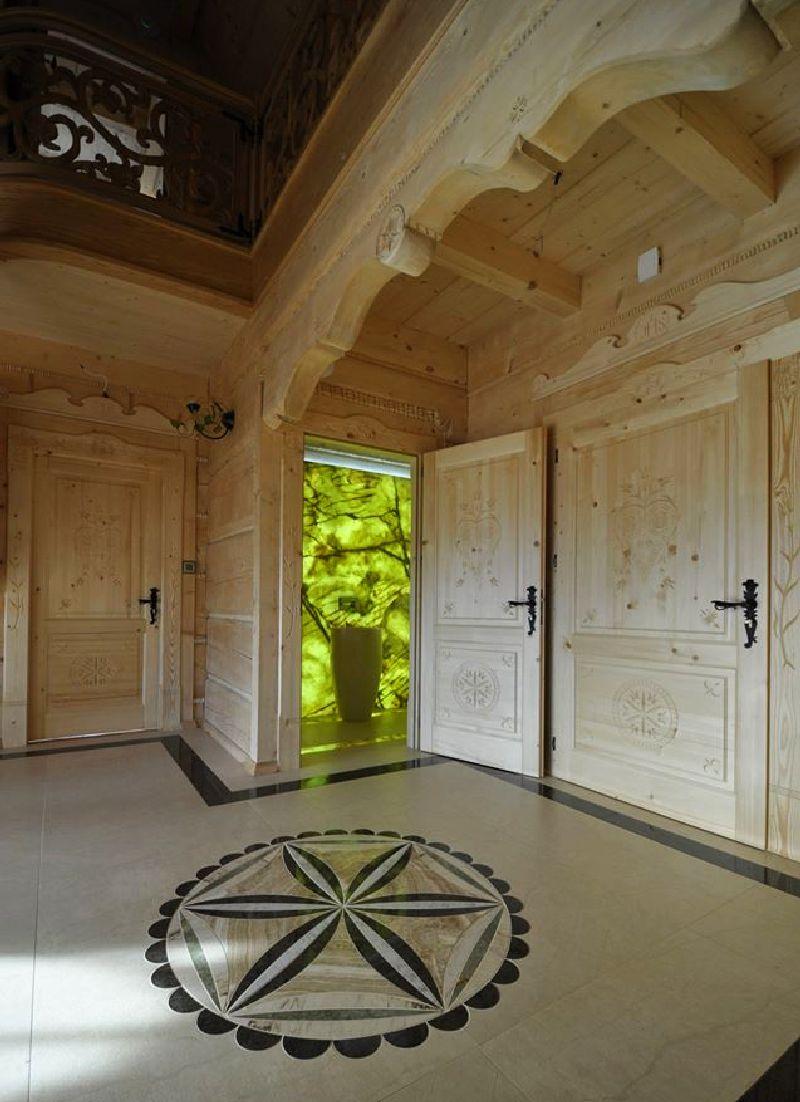 adelaparvu.com despre casa din lemn cu interior folcloric, casa Polonia, design interior Katarzyna Zachariasz-Rybak, k2 Studio (6)