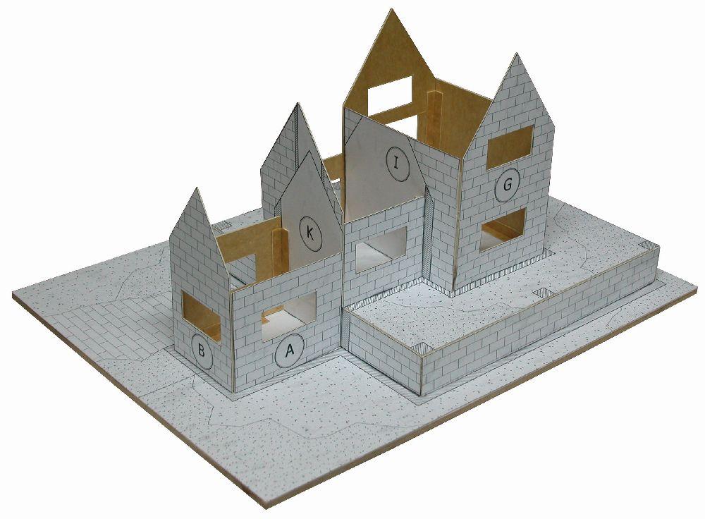 adelaparvu.com despre case miniaturale din ceramica, etape de constructie, Atelierul de modelism (3)